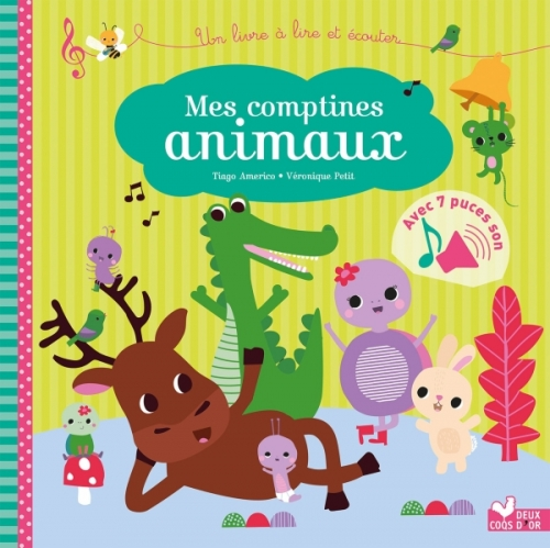 Mes comptines animaux - livre sonore