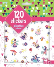 120 stickers fées