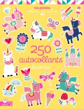 250 stickers - licornes
